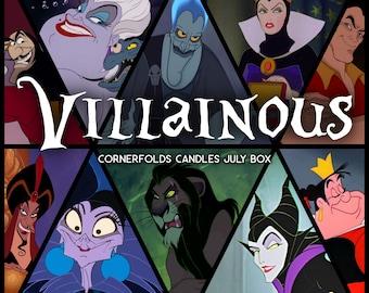 July Candle Box | Villainous