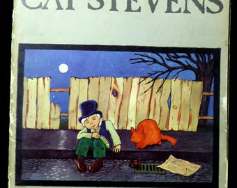 Cat Stevens Teaser and the Firecat Music Book for Piano Vocal Guitar 1972