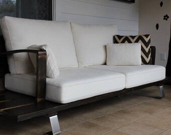 Victoyan Sofa, Indoor or Outdoor modern couch.