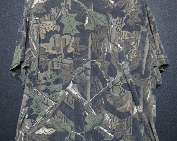 Camouflage Army Combat Pocket Tshirt