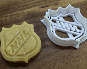 NHL 3D Printed Cookie Cutter