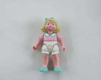 Vintage Fisher Price Dream Dollhouse Rare Little Blonde Girl