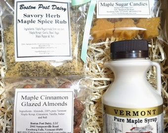 Maple Gift Box/ Mother's Day/ Bridesmaid Gift/ Gifts under Twenty/Ready to Ship