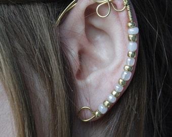 elven ear - ear cuff - elvish earring - elf ear