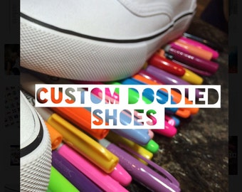 Custom Doodled Shoes