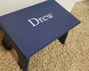 Personalized Stool, Little Kid Step Stool