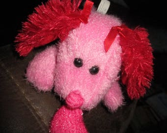 Pink Valentine Dog Stuffed Animal - Toy Trading Co. LTD
