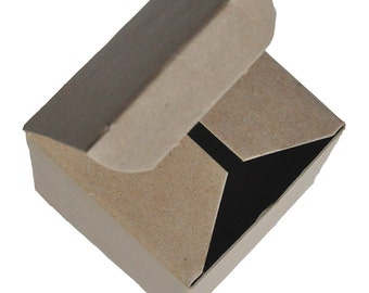 """4 x 4 x 6"""" - 100% Recycled Tuck Boxes - Bundle of 25"""