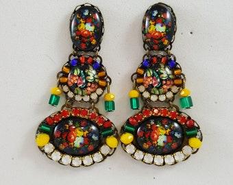 HAPPY Aztec Earrings