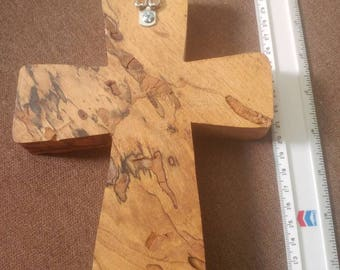 Spalted Pecan Wall Cross