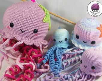 Amigurumi Jellyfish : Happy jellyfish amigurumi pattern amigurumi today