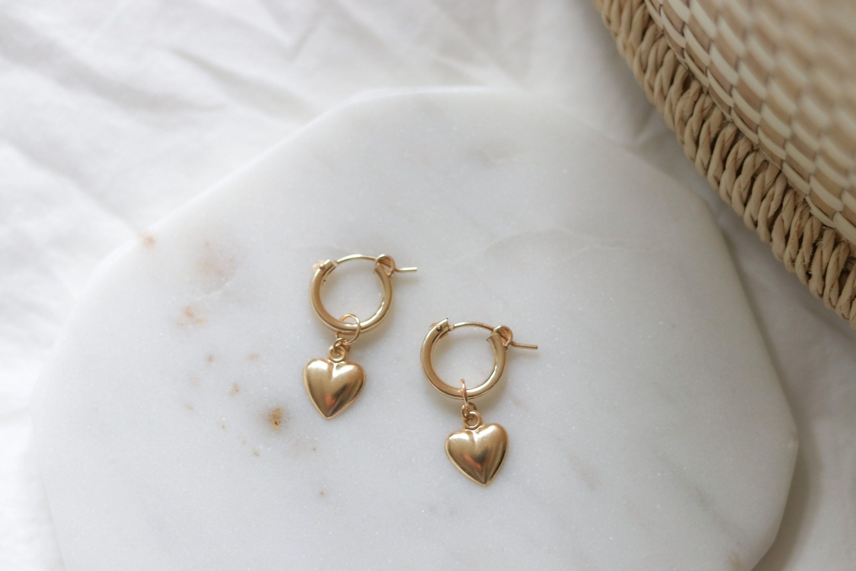 jewelry kozakh delicate dainty filled balance earrings bar kz handmade minimalist moon gold