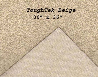 Toughtek Beige Non slip Fabric 36 by 36 inches