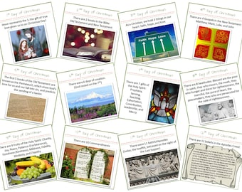 12 Days of Christmas: Learning Game Activity for Kids from Christmas through Epiphany