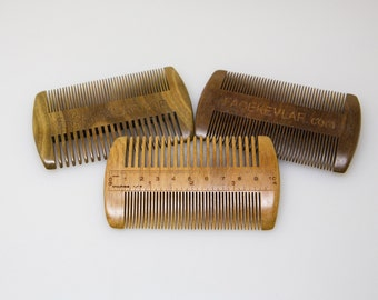 The Ruler Comb {wide & fine tooth}