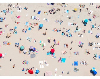 Orange County: 'OC Dayz' // Aerial Beach Photography // 3 Different Print Sizes