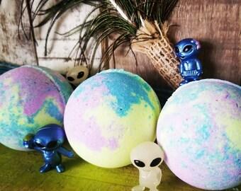 Alien Galaxy Toy Bath Bombs