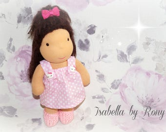 SALE 20 % OFF,Waldorf doll, waldorf inspired doll, steiner doll, doll waldorf, cloth doll, fabric doll, cuddle doll, handmade