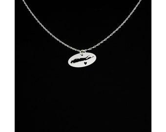 Long Island Necklace - Long Island Jewelry - Long Island Gift