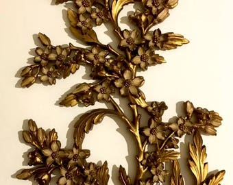 Old Vtg 1967 Dart Ind. Apple Blossom Wall    Decor