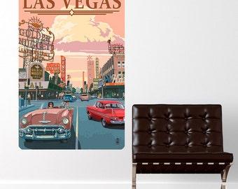 Las Vegas Strip Casinos Wall Decal - #60931