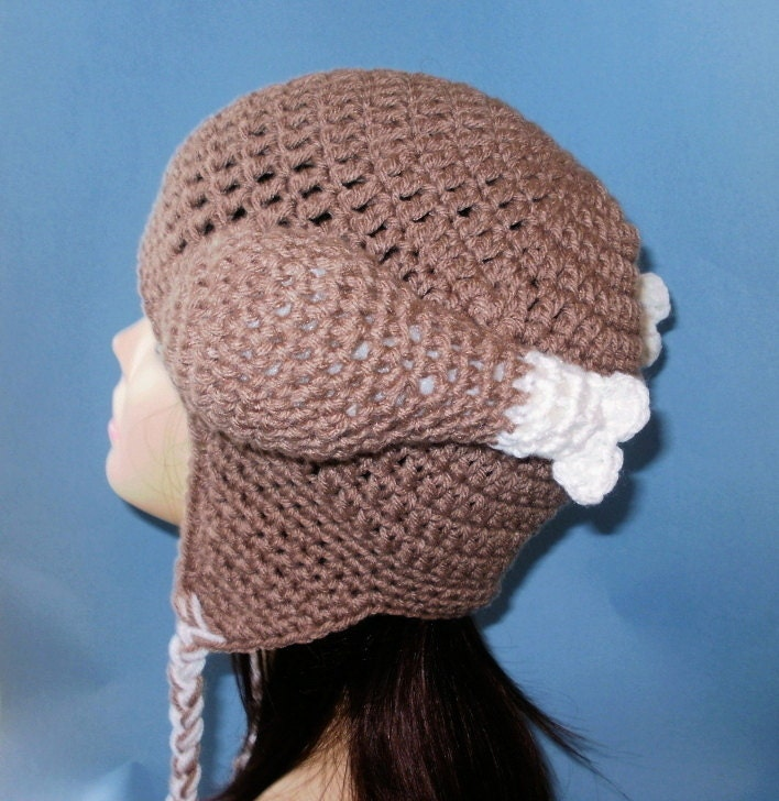 Crochet Pattern PDF Thanksgiving Turkey Hat. Beanie and