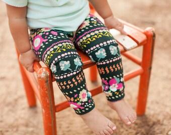 Doodle Blossom Leggings for Baby, Toddler & Girls
