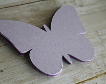 Butterfly Die Cuts, LARGE, Butterfly Tags, Butterfly Cut Outs