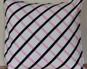 """Marimekko Pillow Cover, Handmade,Pattern:Quilt-Cotton-Linen 20""""x20"""" (50x50cm)"""