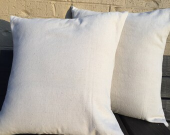 Blank Canvas Pillow Cover, Blank Pillow Cover, Throw Pillow Cover, HTV, Embroidery, Blanks, Pillow Cover, Multiple Size, Farmhouse, Canvas