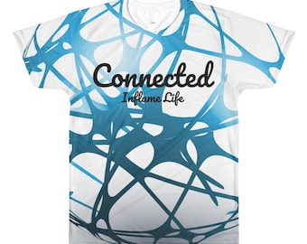 Connected - Abstract All-Over Tee