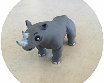 Black Rhino, Endangered Animal
