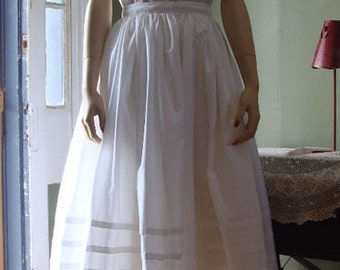 A lovely civil war under the hoop petticoat custom made