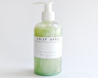 Organic Castile Soap, Liquid Soap, Apple Soap, Body Wash
