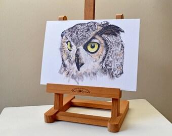 Owl A5 Print