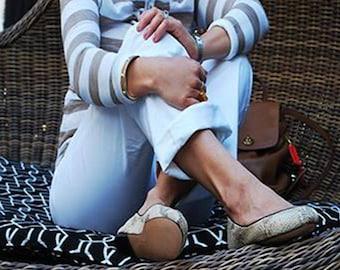 Ballet snake print leather flats, Handmade Leather ballet flats, Women's flat shoes, Leather ballet flat shoes
