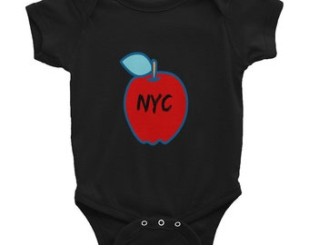 New York City Big Apple Infant Bodysuit