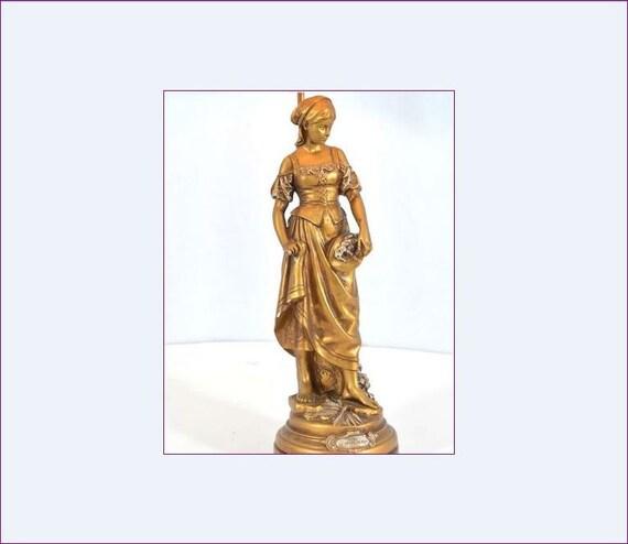 1930s french provincial table lamp la grace de dieu aloadofball Image collections
