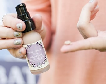 Nature's Veil CC Cream - Honey Flax - Super Hydrating - Cruelty Free, Vegan - Acne Prone Skin Safe - Tinted Moisturizer - Organic - Natural