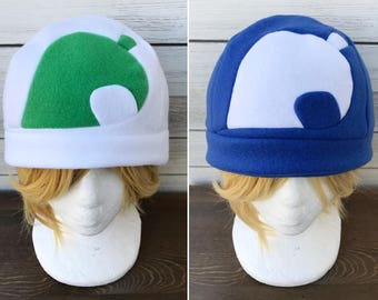 New Leaf or Nookling Junction Hat - Animal Crossing Pocket Camp - Christmas Gift, Holiday Gift, A nerdy, geek gift or costume!