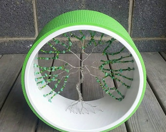 Yoga Wheel- Green Tree of Life