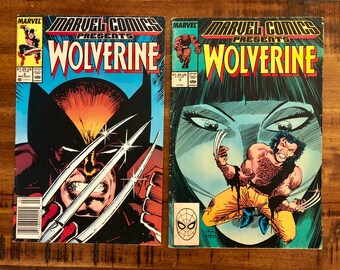 1988 Marvel Comics Presents Wolverine #2 and #3 Comic Books/FN-GD/Marvel Comics /Man-Thing /Choose One or Both for a Discounted Price!