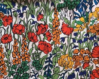 Tana lawn fabric from Liberty of London, Tiny Poppytot