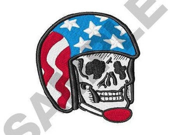 American Biker - Machine Embroidery Design