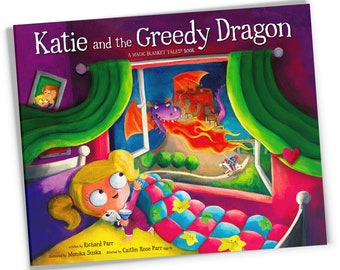 Katie and the Greedy Dragon ~ Signed Children's Book ~ Gift-Boxed ~ Bedtime Story ~ Picture Book ~ Kids Book