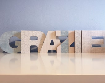 Wood letters CUSTOM MADE
