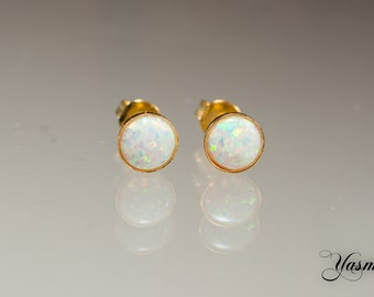 Opal right in Sterling - gold plated or gold plated rose