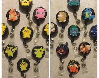 Pokémon badge holder, Id reel, retractable badge