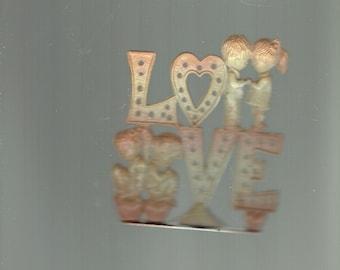 love earring holder