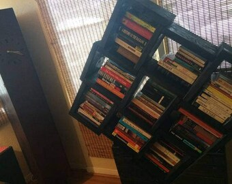 unique modern bookcase